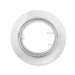 Support plafond blanc orientable 82mm